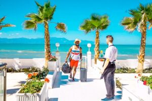 Seafront hotel for Sale Corfu Greece, Hotel sales Corfu Island