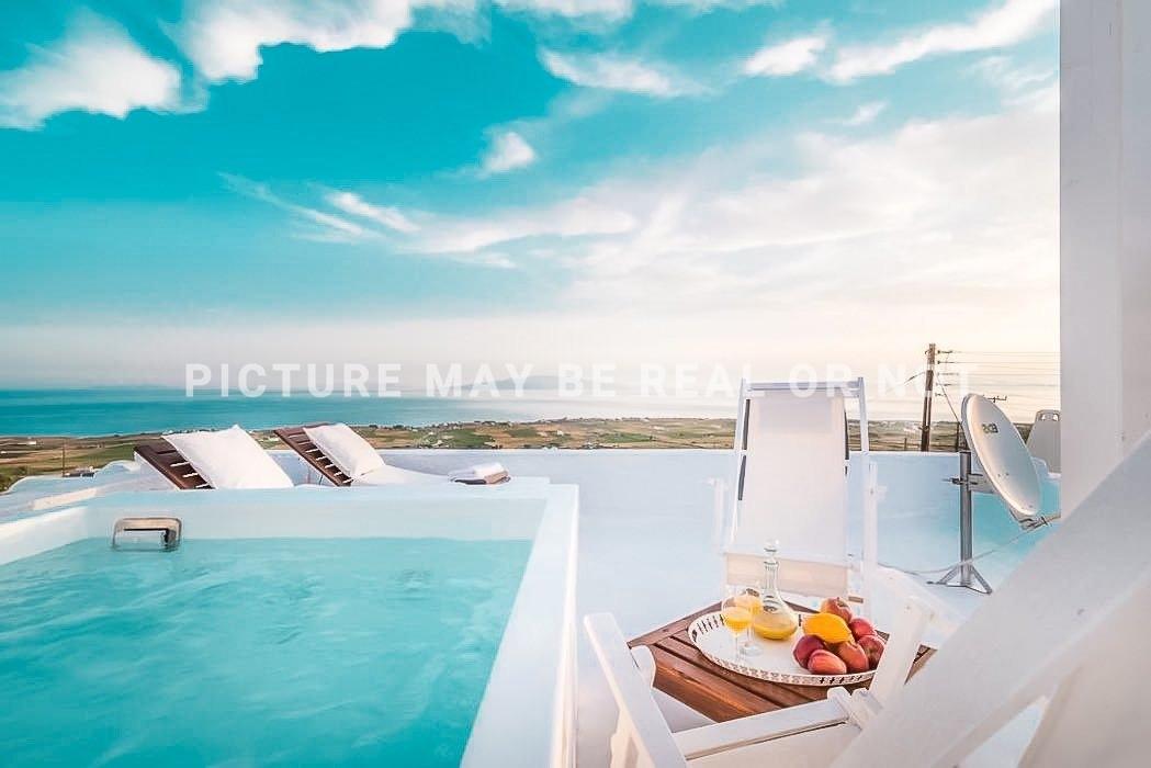 Small Hotel for Sale Finikia Oia Santorini