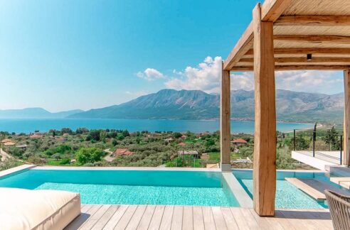 Villa Near Lefkada, Paleros area, Property for Sale Ionio Greece