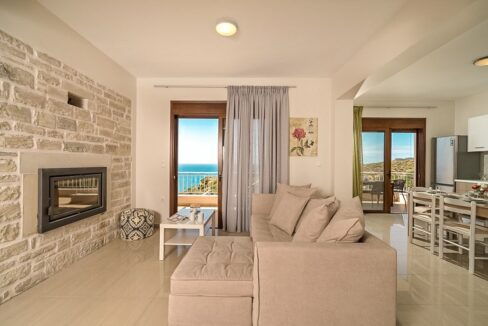 Villa in South Crete with Sea View, Seafront Houses in Crete 15
