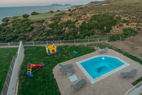 Villa in South Crete with Sea View, Seafront Houses in Crete 16