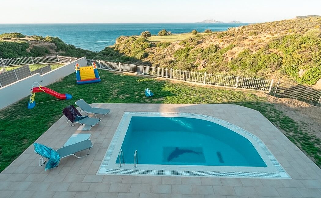Villa in South Crete with Sea View, Seafront Houses in Crete 17