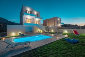 Villa in South Crete with Sea View, Seafront Houses in Crete