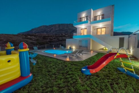 Villa in South Crete with Sea View, Seafront Houses in Crete 19