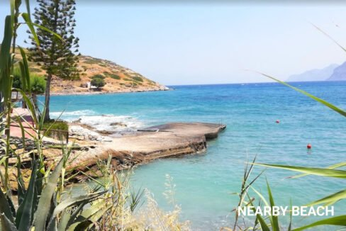 Waterfront Villa with sea view in Crete, Real Estate in Crete, Seafront house in Crete for Sale 1 copy