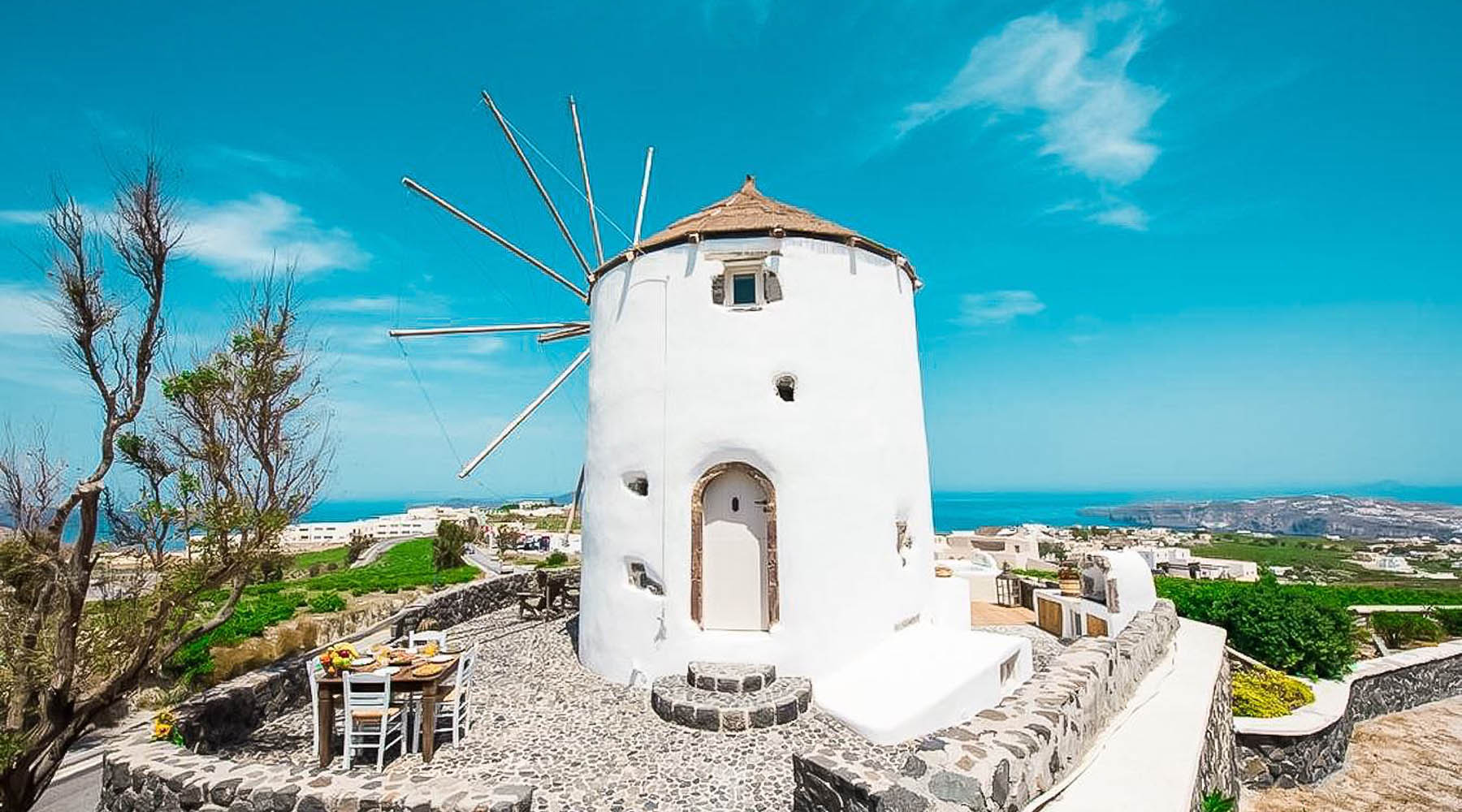Windmill for sale Santorini Greece