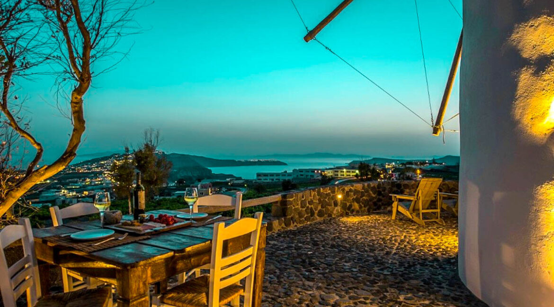 Windmill for sale in Santorini Greece 20
