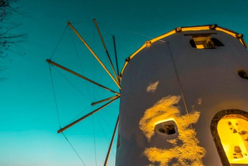 Windmill for sale in Santorini Greece 21