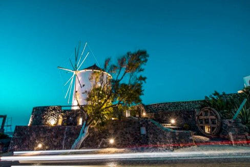Windmill for sale in Santorini Greece 23