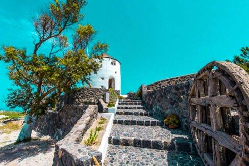 Windmill for sale in Santorini Greece 28