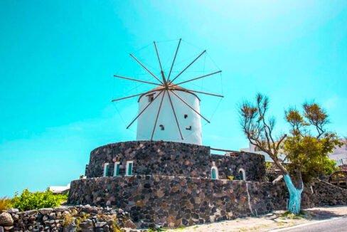 Windmill for sale in Santorini Greece 29
