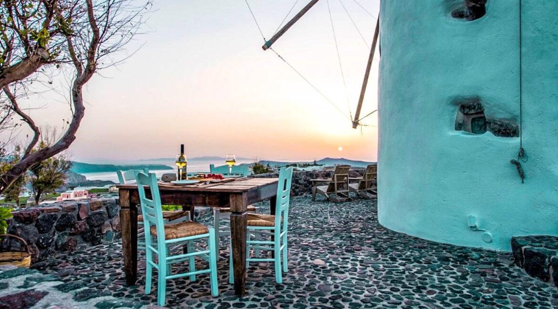 Windmill for sale in Santorini Greece 35
