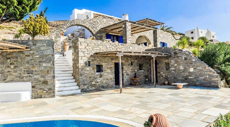 Panoramic View Villa in Paros Cyclades, Paros Greece Properties 33