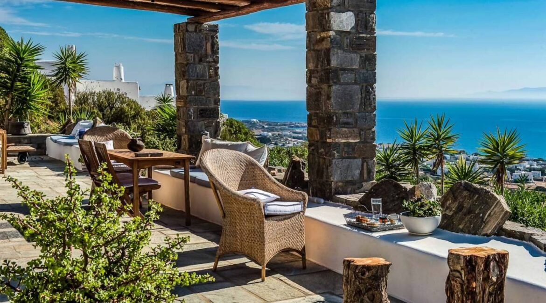 Panoramic View Villa in Paros Cyclades, Paros Greece Properties 39