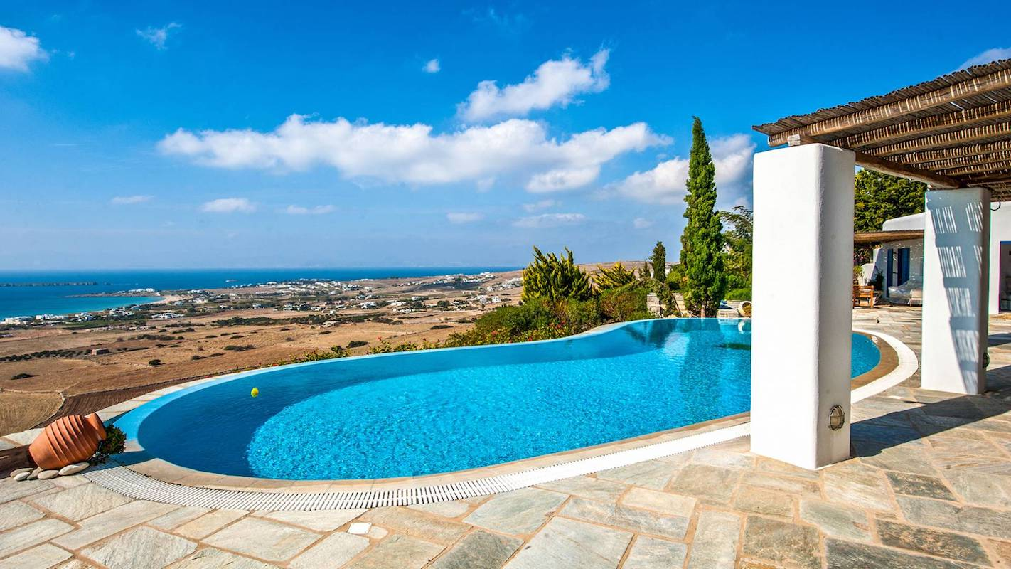 Panoramic View Villa in Paros Cyclades