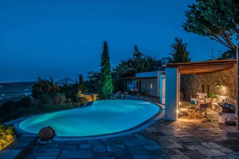 Panoramic View Villa in Paros Cyclades, Paros Greece Properties 7