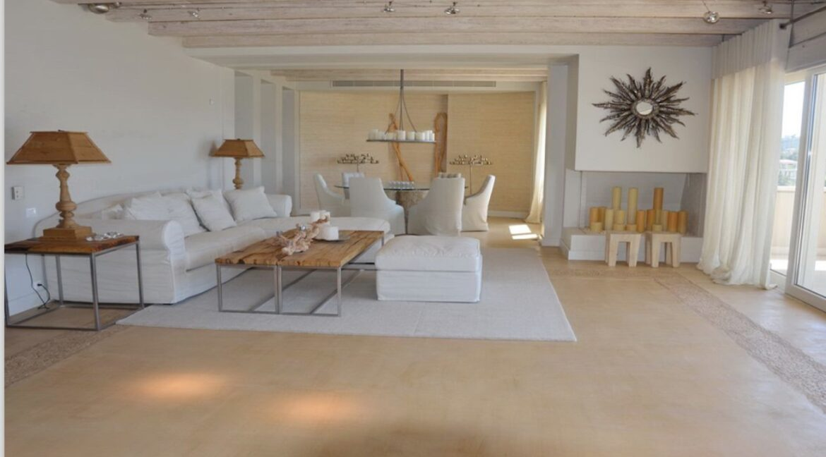 Seafront Mansion Porto Heli for Sale.  Porto heli Real Estate. Seafront Villa 7