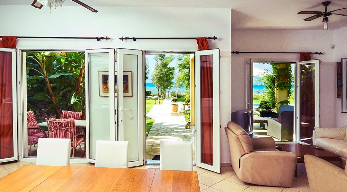 Villa with direct sea access at Corfu, Kassiopi. Corfu Luxury homes, Properties at the sea in Greece 2