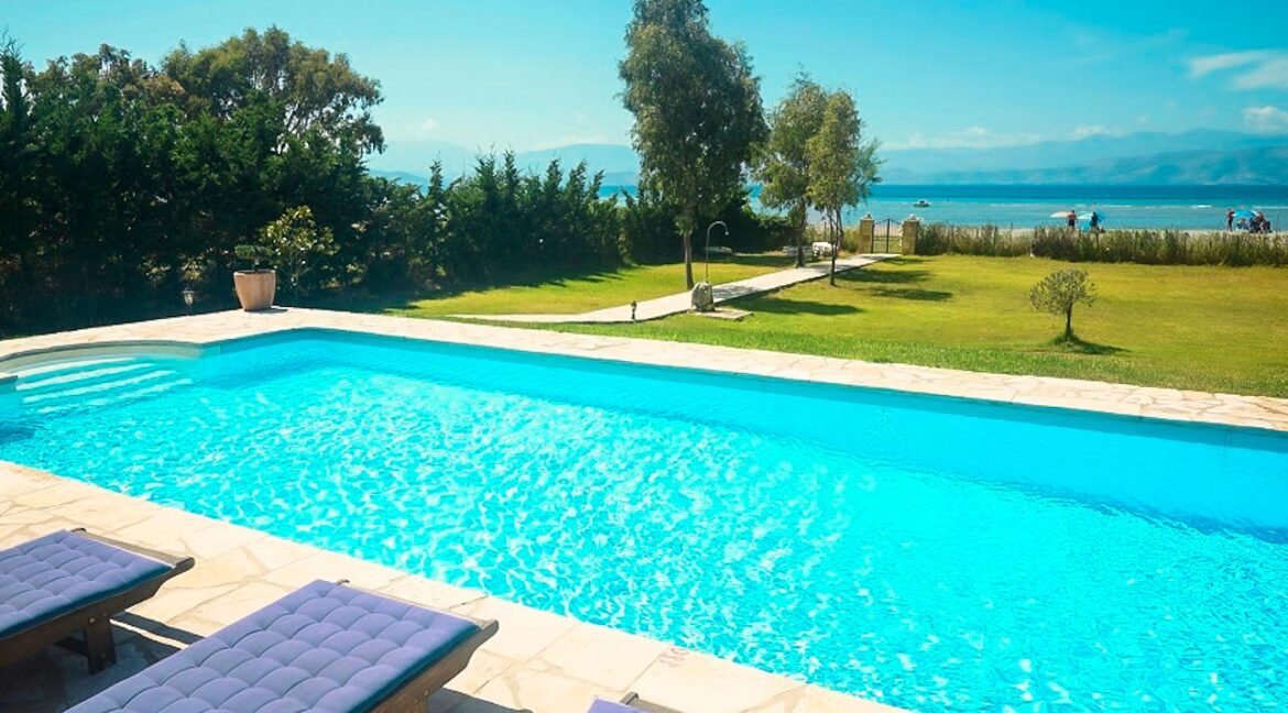 Villa with direct sea access at Corfu, Kassiopi. Corfu Luxury homes, Properties at the sea in Greece 26