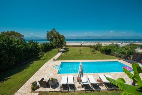 Villa with direct sea access at Corfu, Kassiopi. Corfu Luxury homes, Properties at the sea in Greece 29