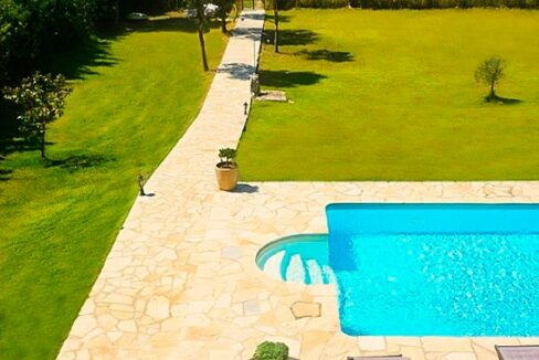 Villa with direct sea access at Corfu, Kassiopi. Corfu Luxury homes, Properties at the sea in Greece 3