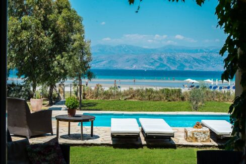 Villa with direct sea access at Corfu, Kassiopi. Corfu Luxury homes, Properties at the sea in Greece 34