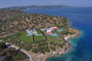 NEW Seafront Villa at Kassandra Halkidiki, Kanistro Paliouri