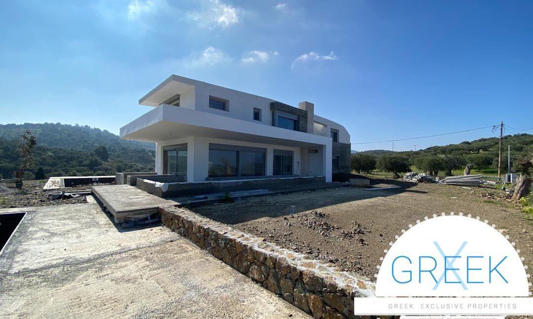 NEW Seafront Villa at Kassandra, Kanistro Paliouri for sale 1