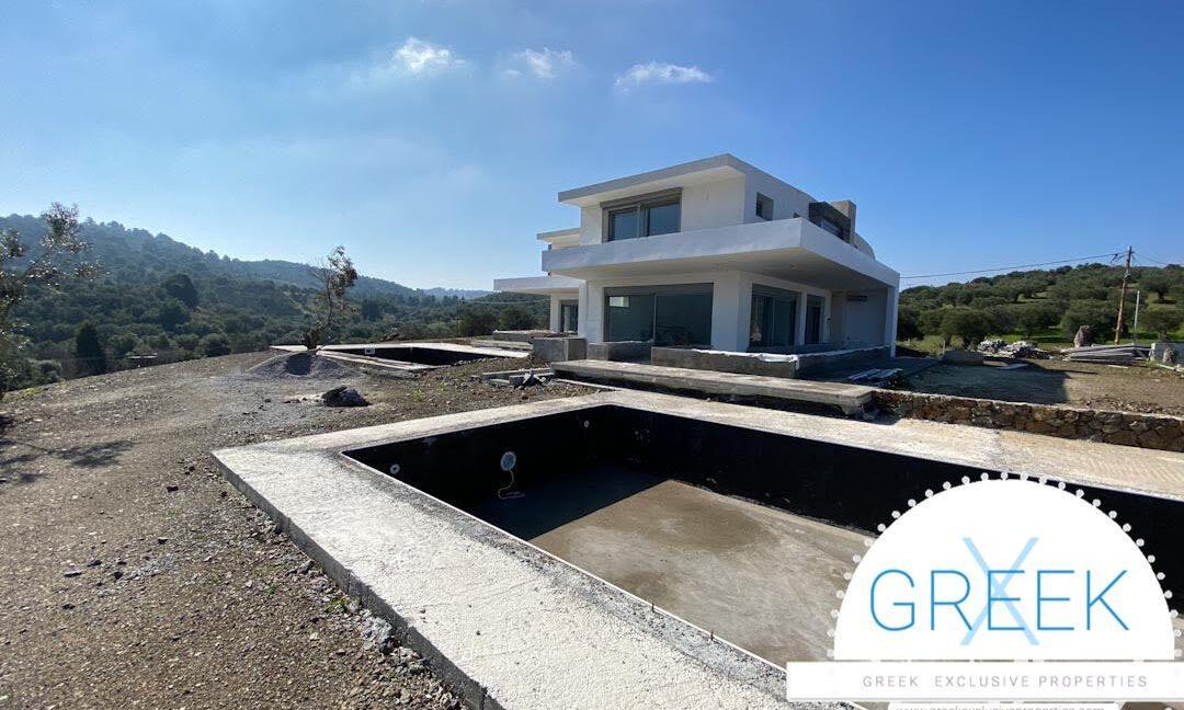 NEW Seafront Villa at Kassandra, Kanistro Paliouri for sale 5