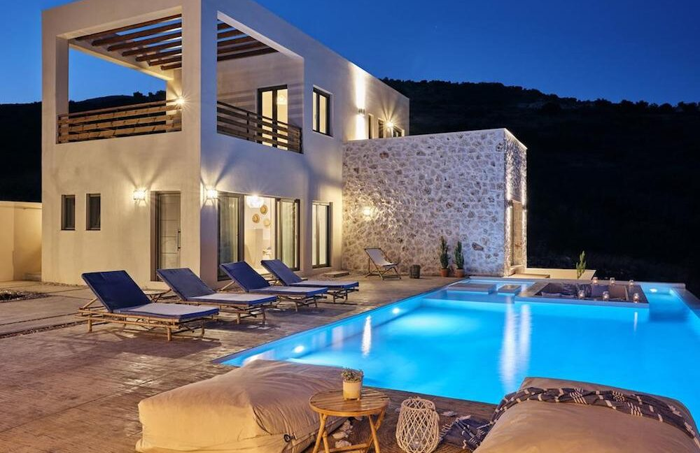 Beautiful Villa Zakynthos Island. Villas for Sale in Zante Greece 32
