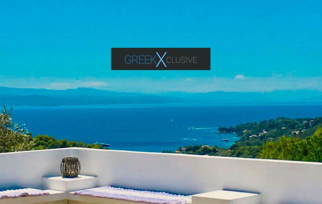House with Sea View in Skiathos in a big land Plot, Skiathos Properties 1