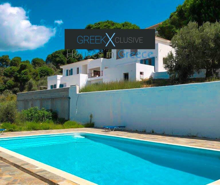 House with Sea View in Skiathos in a big land Plot, Skiathos Properties
