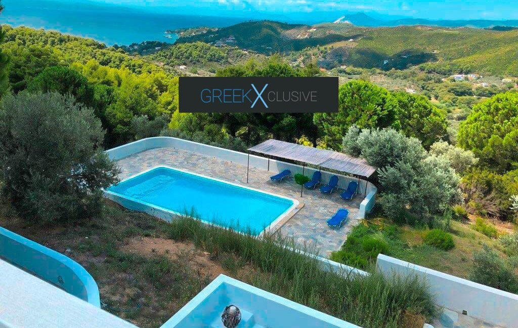House with Sea View in Skiathos in a big land Plot, Skiathos Properties 2