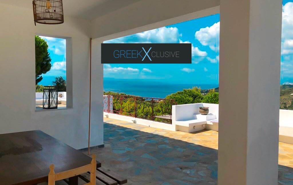 House with Sea View in Skiathos in a big land Plot, Skiathos Properties 3