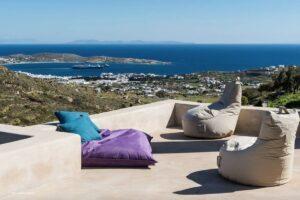 Luxurious villa on the island of Paros. Paros Properties, Paros Homes