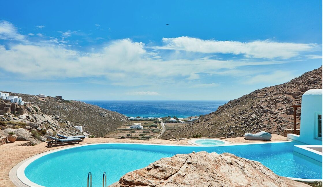 Luxury Sea View Villa , Agrari Mykonos, Mykonos Properties