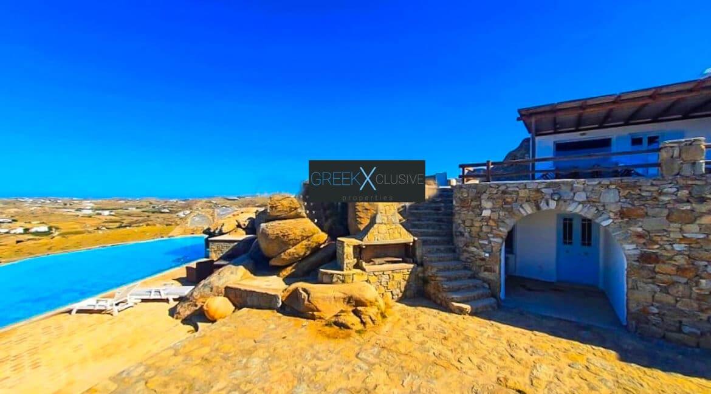 Mykonian Villa for Sale, Sea View Villa Mykonos 6