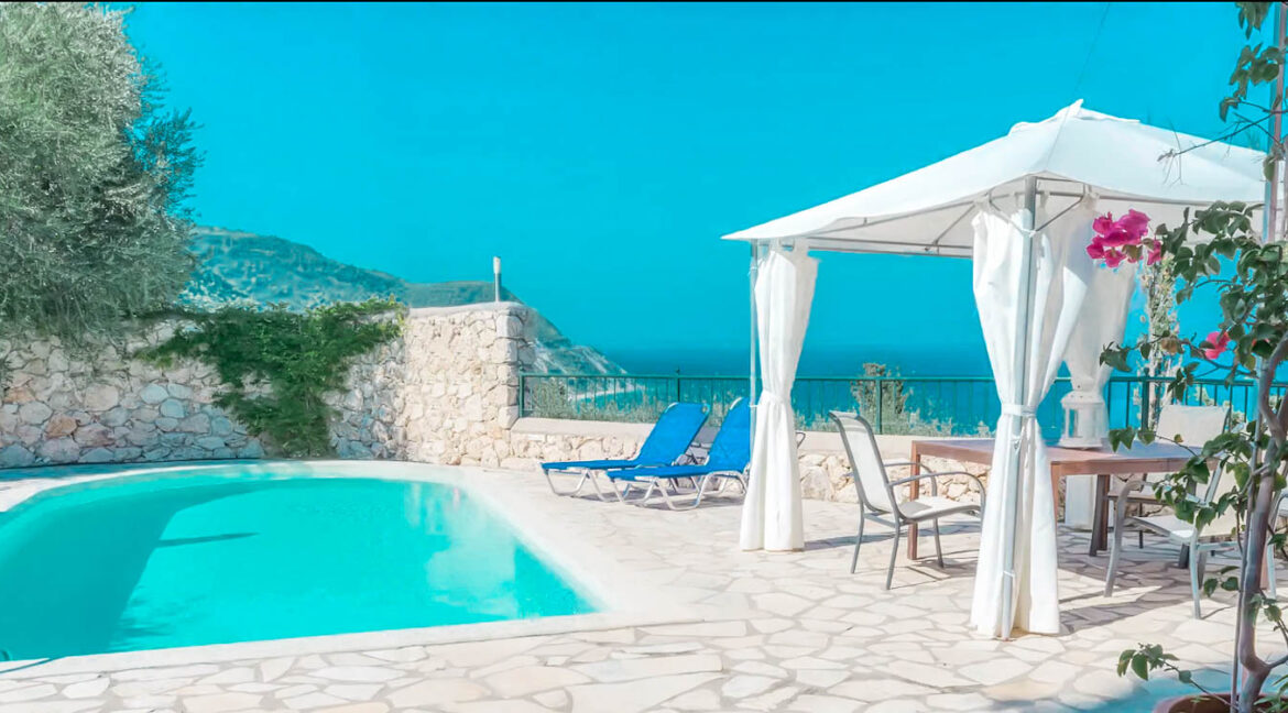 Paradise View Villa in West Lefkada, Lefkas Realty