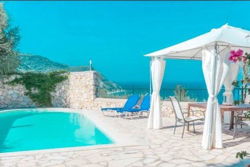 Paradise View Villa in West Lefkada, Lefkas Realty