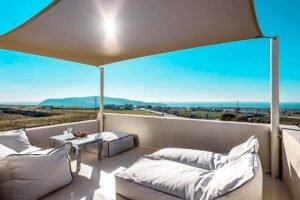Sea View House Santorini, Megalochori area. Santorini Properties for Sale