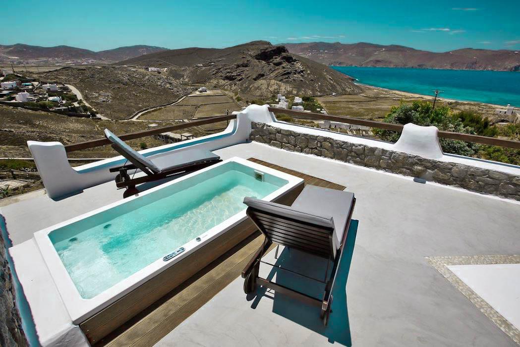 Sea View Property Panormos Mykonos