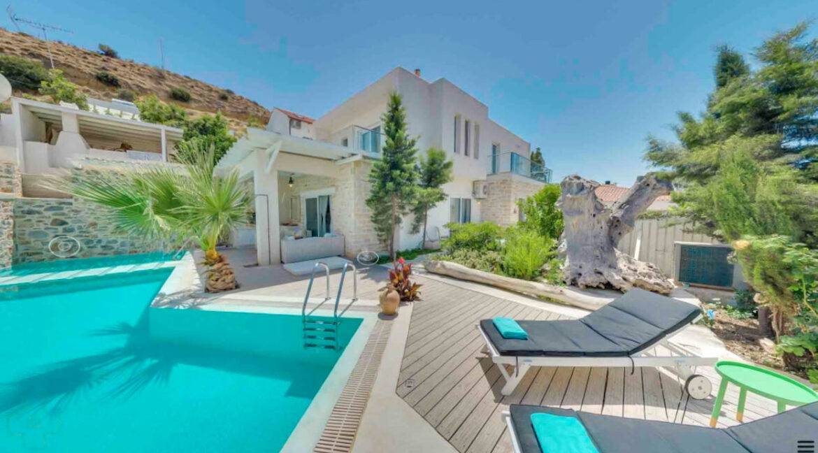 Sea View Villa South Crete, Houses for Sale in Crete Greece