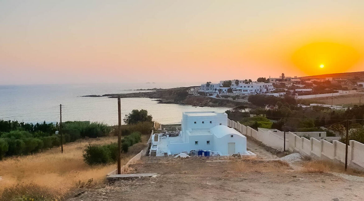 Seafront Property Paros Island, Seafront Villas for Sale in Greece