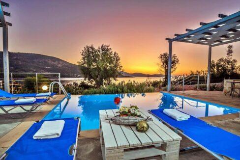 Seafront Villa Lefkada Greece. Lefkas Real Estate, Lefkada Ionio Greece Homes, Buy House in Greek Islands