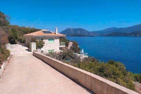 Seafront Villa Meganisi Lefkada Greece, Real Estate Greece, Lefkas Realty 1