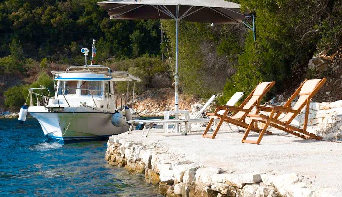 Seafront Villa Meganisi Lefkada Greece, Real Estate Greece, Lefkas Realty 17