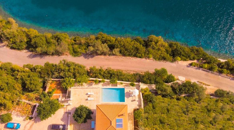 Seafront Villa Meganisi Lefkada Greece, Real Estate Greece, Lefkas Realty 28