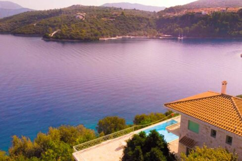 Seafront Villa Meganisi Lefkada Greece, Real Estate Greece, Lefkas Realty 29
