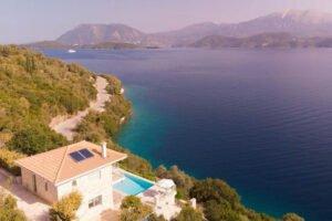 Seafront Villa Meganisi Lefkada Greece, Real Estate Greece, Lefkas Realty