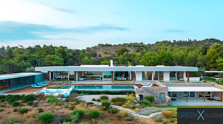 Seafront Villa Porto Helli Peloponnese Greece, Seafront Villas in Greece for Sale